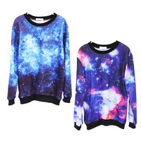 amazinglife — Fantasy Starry Sky Long-sleeved T-shirt