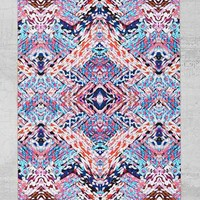 Magical Thinking Braided Geo Rug- Purple 44x66