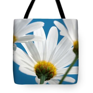 "Daisy close-up Tote Bag for Sale by Jan Brons (18"" x 18"")"