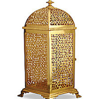 L'Objet - Fortuny Rabat 24K Gold-Plated Lantern - Saks Fifth Avenue Mobile