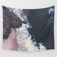 sea of love Wall Tapestry by Ingrid Beddoes