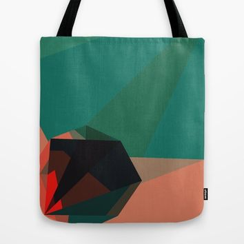 Shape Play 1 Tote Bag by Ducky B