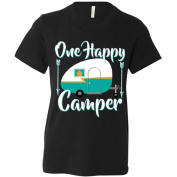 Happy Camper Asst Colors Youth T-Shirt/tee
