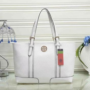 ONETOW Tory Burch Women Leather Shoulder Bag Satchel Tote Handbag