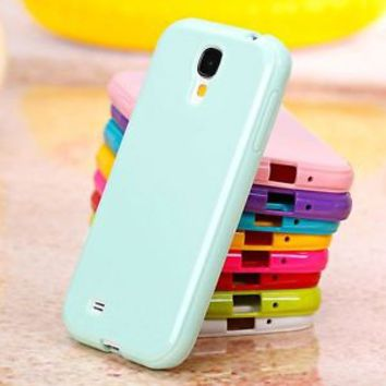 New Candy Soft TPU Silicone Case For Samsung Galaxy S6 S7 edge note 5 note 4