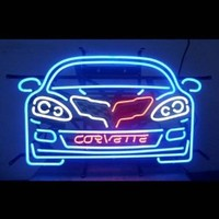 Cars and Motorcycles Corvette C6 Neon Sign