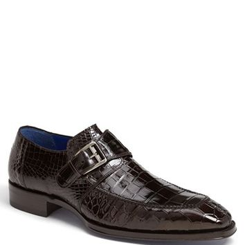 Men's Mezlan 'Comodo' Alligator Loafer