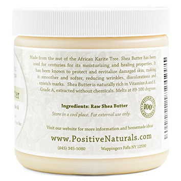 Organic Shea Butter, Raw Unrefined Ivory 1lb; Natural Moisturizer for Skin, Nails, Hands and Hair; Great for Homemade Lotions, Balms and Bar Soaps; Six Most Popular Recipes Included with Purchase.
