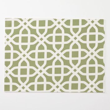 SONOMA life + style Trellis Placemat (Green)