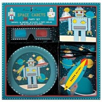Meri Meri Space Cadets 3D Robot Party Set