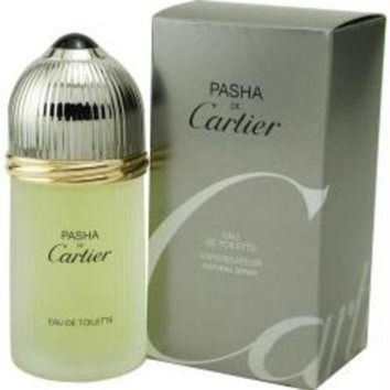 ONETOW Cartier Pasha De Cartier By Cartier Edt Spray 3.3 Oz