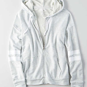 AEO Soft & Sexy Terry Hoodie, Light Blue