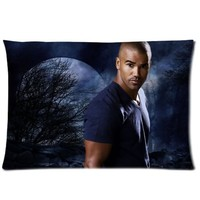 "Shemar Moore Pillowcase Covers Standard Size 20""x30"" CC3573"