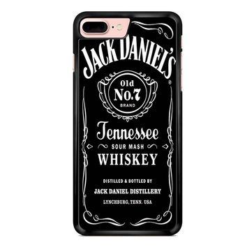Jack Daniels Black iPhone 7 Plus Case