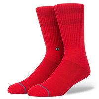 Stance Domain Sock RED L