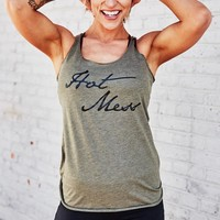 Hot Mess workout tank top for women