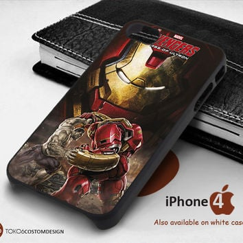 Ironman Hulkbuster Age of Ultron for iPhone 4/4S, iPhone 5/5S, iPhone 6, iPod 4, iPod 5, Samsung Galaxy Note 3, Galaxy Note 4, Galaxy S3, Galaxy S4, Galaxy S5, Galaxy S6, Phone Case