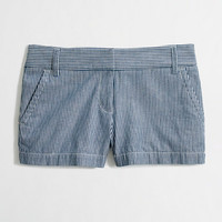 Factory railroad-stripe short - novelty - FactoryWomen's Shorts - J.Crew Factory