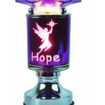 Hope Table Fragrance Aroma Lamp Oil Diffuser Wax Tart Candle Warmer Burner Home Decor Touch Lamp