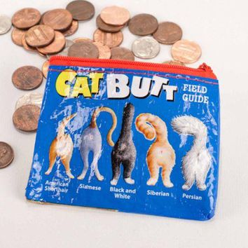 Cat Butt Coin Purse (Also Perfect for Small Makeup Items)