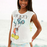 Mickey Criss Cross Side Tank