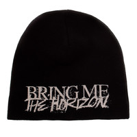 Bring Me The Horizon Logo Beanie (Black)  | Blue Banana UK