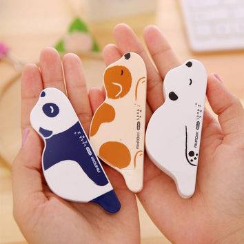 Novelty Lying Animals Correction Tape Promotional Gift Stationery Student Prize School Office Supply