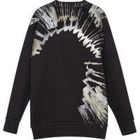 Marni Painted Bonded Jersey Sweatshirt Gold