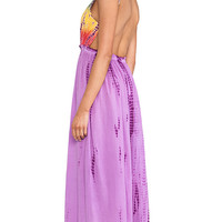 Raga Tie Dye Maxi Dress in Purple