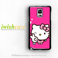 Hello Kitty Girl Samsung Galaxy Note 3 Case Note 4 Case