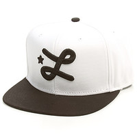LRG Core Collection The Core Collection Seven Hat in White : Karmaloop.com - Global Concrete Culture
