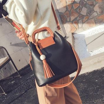 Casual Large Capacity Hobos Tote  Crossbody Bag