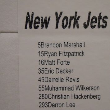 2016 PANINI NEW YORK JETS 8 CARD TEAM SET FORTE MARSHALL REVIS FITZPATRICK LEE