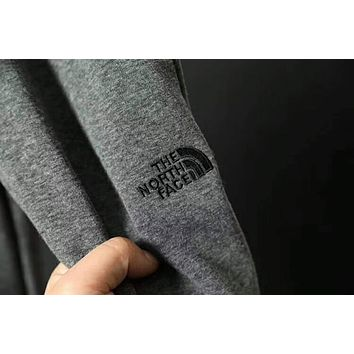 The north face official website plus cashmere men's pants F-ZDL-STPFYF  Gray