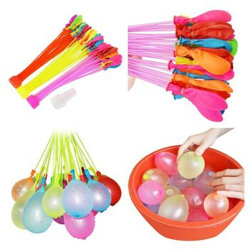 111pcs/bag Filling Water Balloons Funny Summer Outdoor Toy Balloon Bunch Water Balloons Bombs Novelty Gag Toys For Children