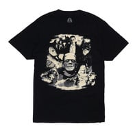 Rock Rebel Universal Monsters Glow Collage T-Shirt