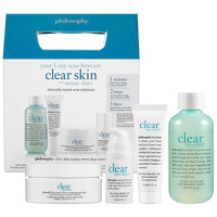 Clear Days Ahead™ 30-Day Acne Trial Kit - philosophy | Sephora