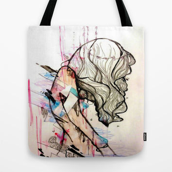 Collapsing Structures Tote Bag by Princess M
