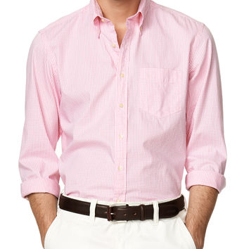 Yale Pinpoint Gingham Regular Button Down