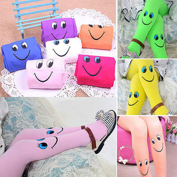 Novelty Ideal Girls Kids Tights Pantyhose Stockings Soft Velvet Ballet Children Stocking For Kid 4-9Years