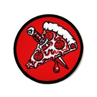 Pizza Knife Patch