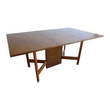 Pre-owned George Nelson Gate Leg Drop Leaf Table