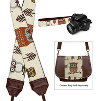DSLR Camera Strap SLR Digital Camera Padded by janinekingdesigns