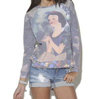 Snow White Sweatshirt  | Shop Just Arrived at Wet Seal