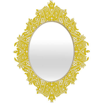Aimee St Hill Amirah Yellow Baroque Mirror