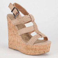 Soda Sotto Womens Shoes Oatmeal  In Sizes