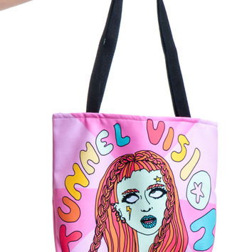 Star Woman Waiting in the Sky Tote