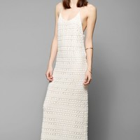 Gat Rimon Oro Floral Crochet Maxi Dress - Urban Outfitters