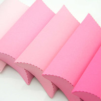 Gift Pillow Boxes - Package of 15 - Shades od Pink - Pink Boxes, Hot Pink Boxes, Jewelry Boxes, Summer Craft, Wedding Favor, Party Favor