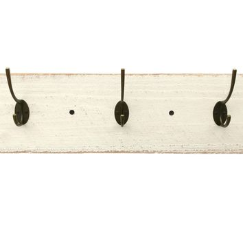 Reclaimed Wood Coat Rack - Shabby Chic